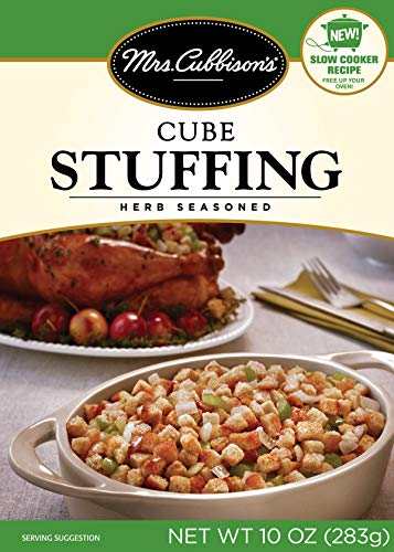 Mrs. Cubbison's Herb Cubed Stuffing Mix | 10 Ounce, Pack of 6 $9.03