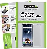 dipos I 2X Schutzfolie matt kompatibel mit Oukitel K6 Folie Bildschirmschutzfolie
