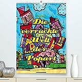 Die verrückte Welt der Popart von Nico Bielow(Premium, hochwertiger DIN A2 Wandkalender 2020, Kunstdruck in Hochglanz): Es gibt Gebäude auf der Welt, ... (Monatskalender, 14 Seiten ) (CALVENDO Kunst)