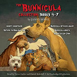 The Bunnicula Collection: Books 4-7 audiobook cover art
