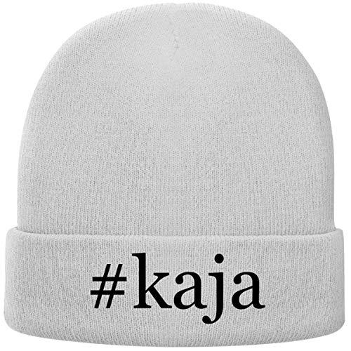 One Legging it Around #kaja - Hashtag Soft Adult Beanie Cap, White