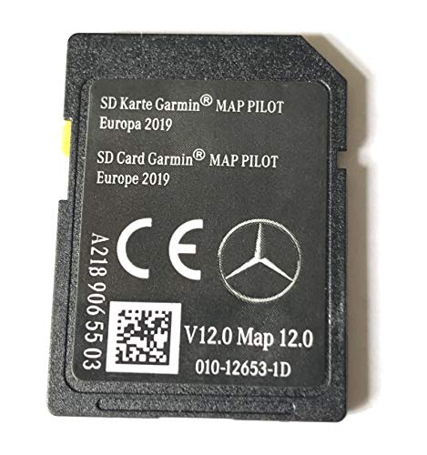 SD CARD MERCEDES GARMIN MAP PILOT STAR1 v12 Europe 2019 - A2189065503