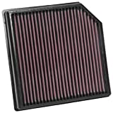 K&N Engine Air Filter: High Performance, Premium, Washable, Replacement Filter: Fits 2018-2019 VOLVO (XC40), 33-3127