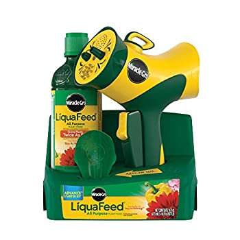 Miracle-Gro Liquafeed All Purpose Plant Food Advance Starter Kit  feeder + 1 refill