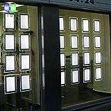 A4 Portrait Real Estate Window Hanging Led Sign Holder Display (4pcs Hanging in one Column)