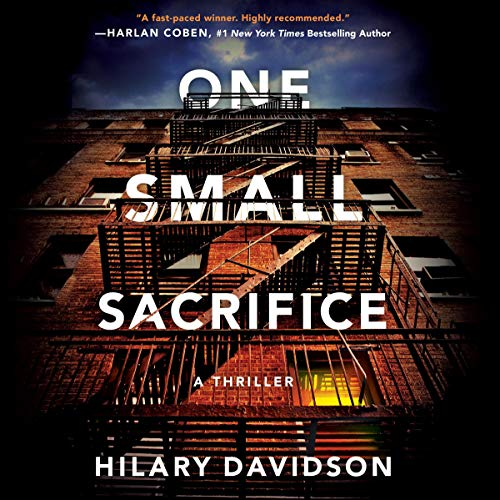 Page de couverture de One Small Sacrifice