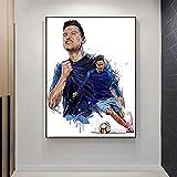 NSRJDSYT Moderne Leinwand Malerei Olympique De Marseille