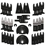 Oscillating Saw Blades Set, 28 Pcs Quick Release Multitool Accessories...