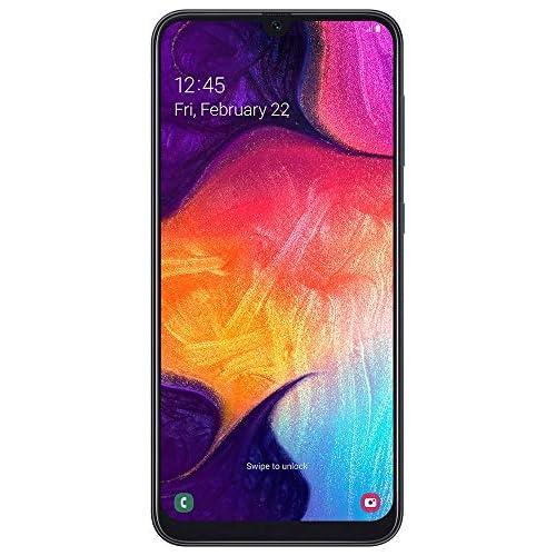 Samsung Galaxy A50 Smartphone (16,3 cm (6,4 pollici), 128 GB di memoria interna, 4 GB di RAM, colore nero, versione tedesca
