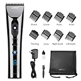 WONER Hair Clippers for Men Professional Cordless Rechargeable Hair Trimmers Hair Cutting Kit