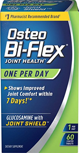Joint Health with Immune Support by Osteo Bi-Flex, Helps Strengthen Joints, One Per Day Glucosamine Tablets 60ct