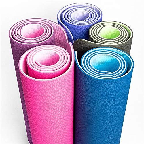 Hoogwaardige yogamat smaakloos fitness sport beginner tapijt milieuvriendelijk fitness mat groothandel hote