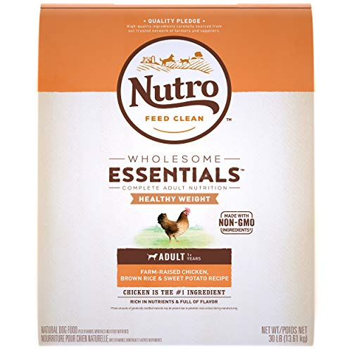 NUTRO WHOLESOME ESSENTIALS Adult Healthy Weight Dry Dog Food, All...