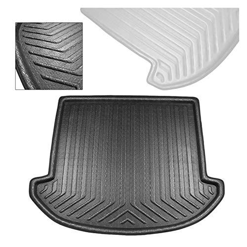 RKRCXH Ajuste Fit For 2013-2018 Hyundai Santa Fe (DM) 7 Asientos Negro del Cargador del Coche Mat Liner Posterior del Tronco Cargo Floor Pad Accesorios De Coches Alfombrilla para Maletero Coche
