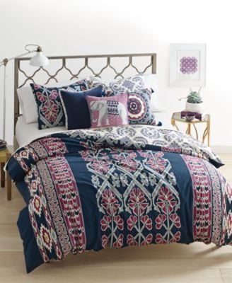 Martha Stewart Whim Collection WILD CHILD Comforter Cover: TWIN/TWIN XL