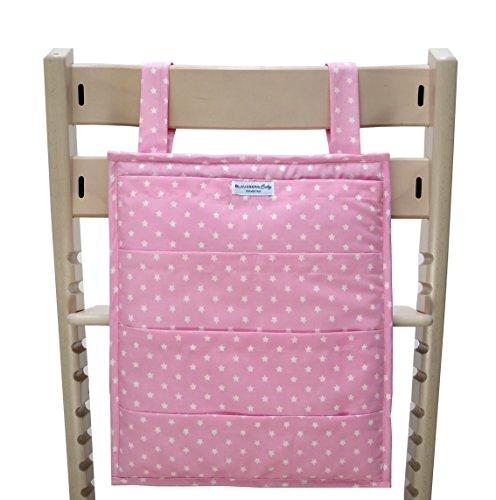 Blausberg Baby - Utensilo pour Stokke Tripp Trapp chaise haute - rose Žtoile