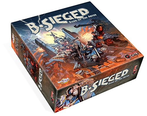 Cool Mini or Not CMNBSG001 - B-Sieged: Sons of The Abyss Brettspiel