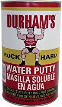 Donald Durhams 076694000046 4-Pound Rockhard Water Putty