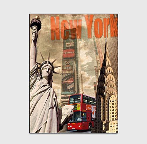 WmmoY-carpet Stuoia di Porta del Tappeto del Comodino della Cucina della Camera da Letto della Statua della libertà di New York-Statua della libertà_140 * 200cm