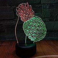 giyiohok3Dナイトライト目の錯覚クリエイティブスポーツカーナイトライト7色リモコンリモコン装飾LEDタッチテーブルランプ家庭用-A10-A17-A6