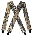 AYOSUSH Camo Suspenders for Men Big and Tall...