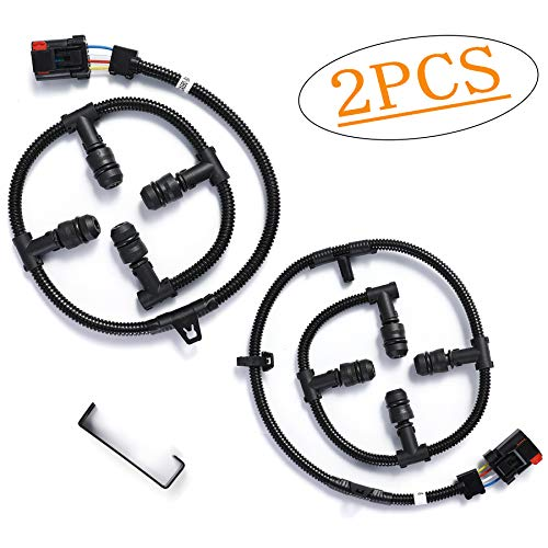 Fits Ford Glow Plug Harness 6.0 Powerstroke, Glow Plug Harness Kit with Removal Tool, for Ford 6.0L V8 Powerstroke F250 Super Duty, F350, more - 2004, 2005, 2006, 2007, 2008, 2009, 2010 OrionMotortech