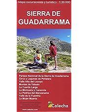 SIERRA DE GUADARRAMA. MAPA EXCURSIONISTA Y TURÍSTICO