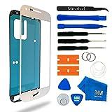 MMOBIEL Schermo tattile di Ricambio Compatibile con Samsung Galaxy S4 Mini i9190 i9195 Series (Bianco) incl Kit con Attrezzi