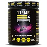 Time 4 Pre-Workout - Ultra High Strength Pre Workout Powder - Plant Based
