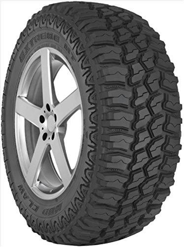 TBC NEUTRAL Mud Claw Extreme M/T Radial LT Truck R Tire-2757018 125Q E-ply