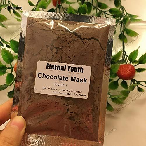 Petsdelite® 50 gramos de piel de chocolate y Amp; Mascarilla corporal rejuvenecedora Mascarilla exfoliante Tratamiento facial Decadente Hidratación nutritiva