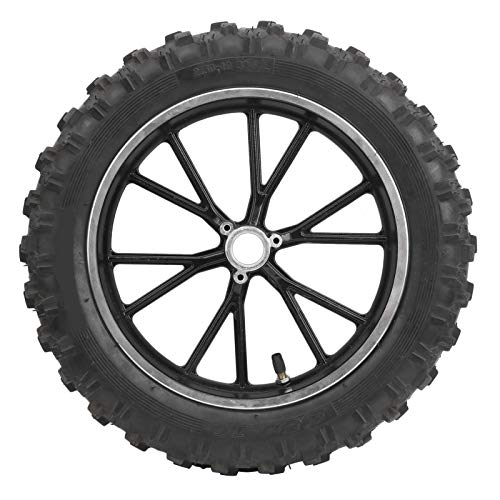 Akozon 2,50-10 Zoll 60 / 100-10 Reifenfelge Felge Rutschfester Reifen für PIT PRO Trail Dirt Bike Thumpstar