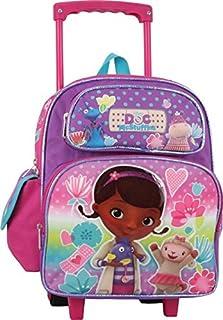 Small Rolling Backpack - Doc McStuffin School Bag New 651039