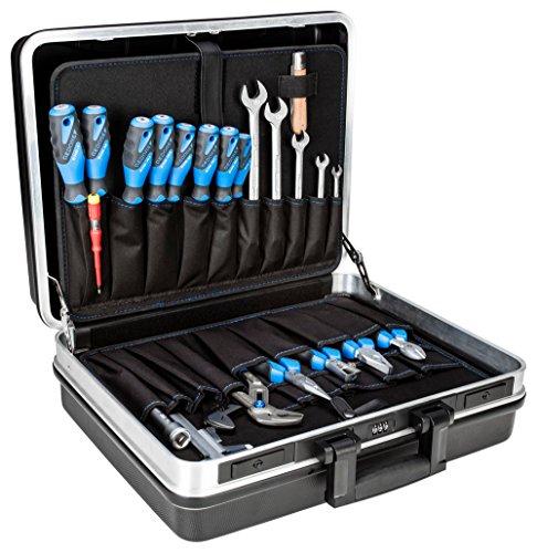 GEDORE Werkzeugsortiment, Set 100-teilig, gefüllt, Profi, Werkzeug, für KFZ-Industrie, im Kunststoff-Koffer, 1041-002