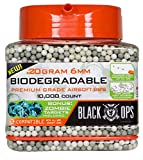 Black Ops Biodegradable Airsoft BB's, 10,000 Count.20g, 6mm