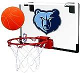 Rawlings NBA Game On Polycarbonate (PC) Mini Basketball Hoop Set, Memphis Grizzlies