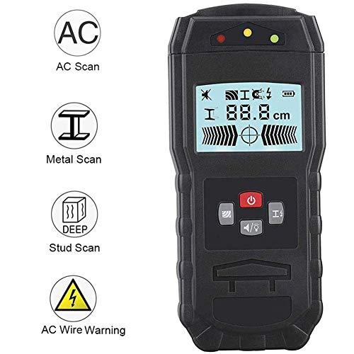 KOWE Ortungsgerät, 3-In-1-Wandscanner, Wanddetektor Mit LCD-Display, Für Holz-AC-Draht Metallbolzen Kabelbalkenerkennung