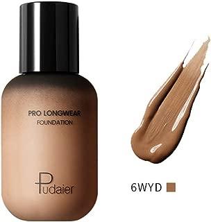 Averyzoe Best Natural Makeup Foundation Pudaier 40 Colors Mineral Foundation and Concealer Dark Complexion Rescue Concealer Beige moisturizer Liquid Foundations