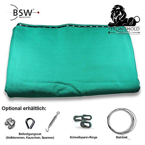Stronghold Pfeilfangnetz Professional - grün - 4m breit x 2,9m hoch