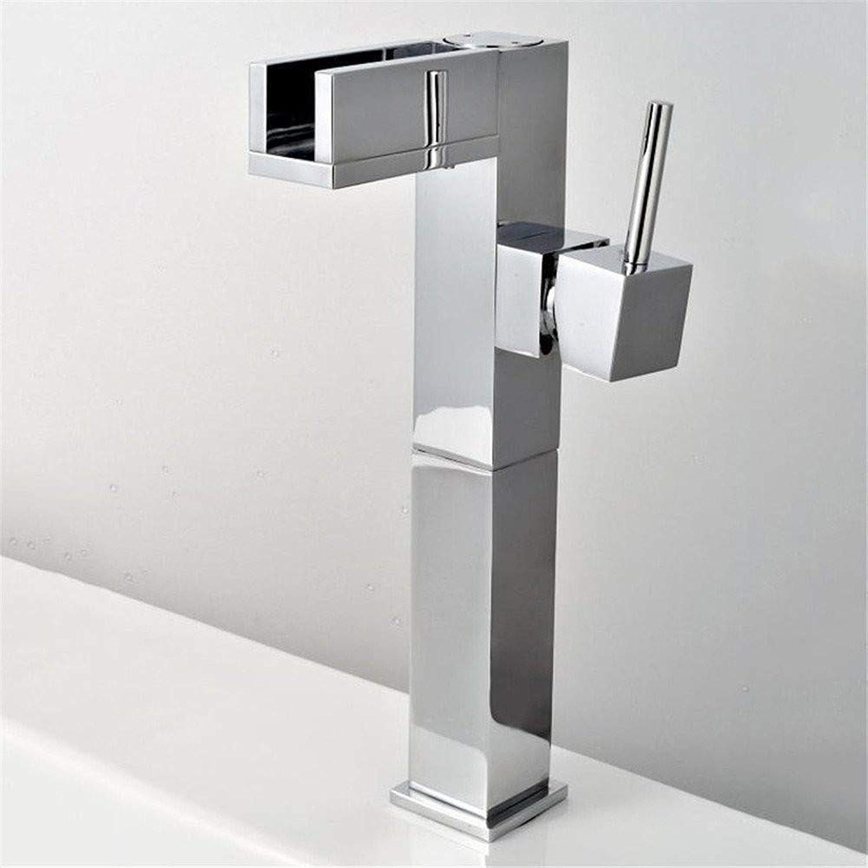 Wasserhahn Küche Waschbecken Badezimmer Farbtemperatur-Kontrollhahn des Schlüssels, der mit geführten Bassin-Hhnen erhht