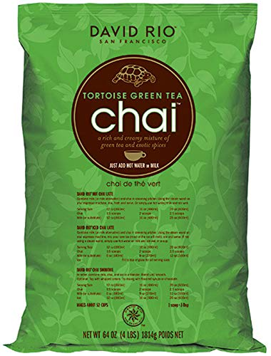 David Rio Chai Tortoise Green aus San Francisco, Nachfüllbeutel (1x1814 g)