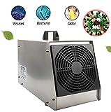 Generador De Ozono Para El Hogar, Máquina De Ozono Móvil De 220 V O3 Esterilizador De Aire Comercial Generador De Ozono 20 G / H Para Interiores, Hogar, Oficina Y Embarcación (Rango Efectivo 800㎡)