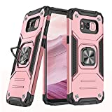 Compatible with Samsung Galaxy S8 Plus Case and Ring