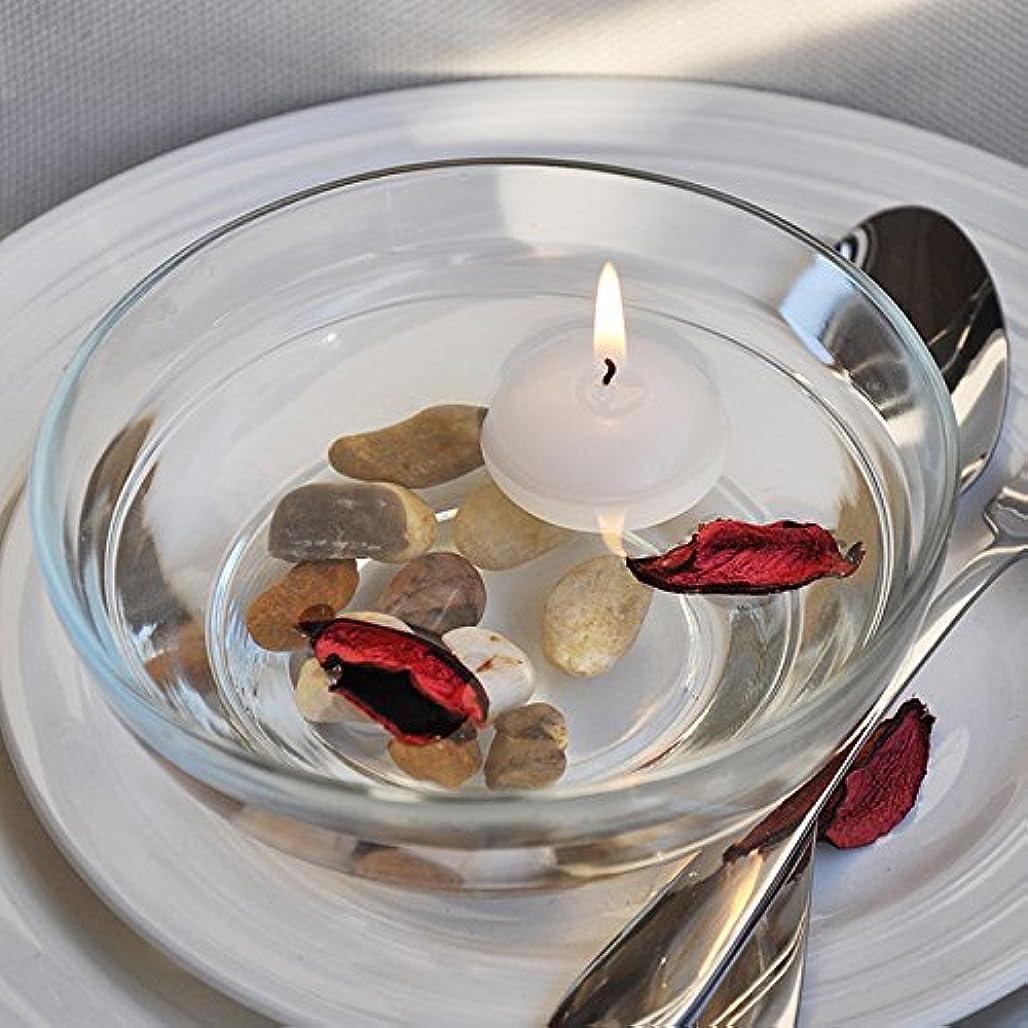 制裁上へ剛性熱い販売10ピース/ロット小さな無香料フローティングキャンドル用ウェディングパーティーホームデコレーションキャンドル-Ivory