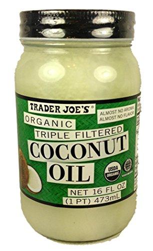 Trader Joe#039s Organic Triple Filtered Coconut Oil