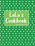 LaLa's Cookbook Green Polka Dot Edition