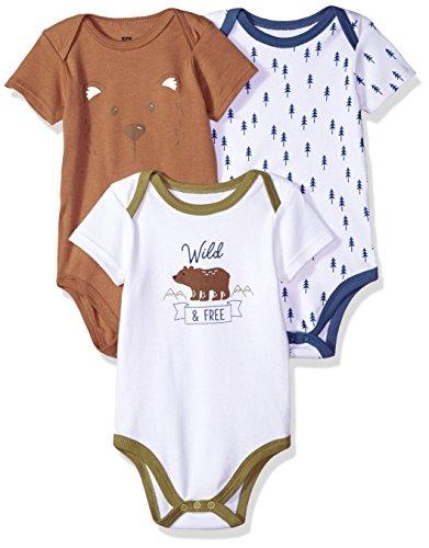 Hudson Baby Cotton Bodysuits,