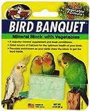 Zoo Med Bird Banquet - Bloque de alimento para pájaros, Mezcla de Verduras, pequeño, 1 x 28 g
