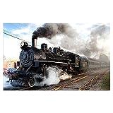 Pinturas en lienzo Carteles e impresiones de locomotoras de...