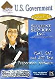 U.S. Government -- PSAT, SAT, and ACT Test Preparation Software Grades 11-12 -  xpressions Media